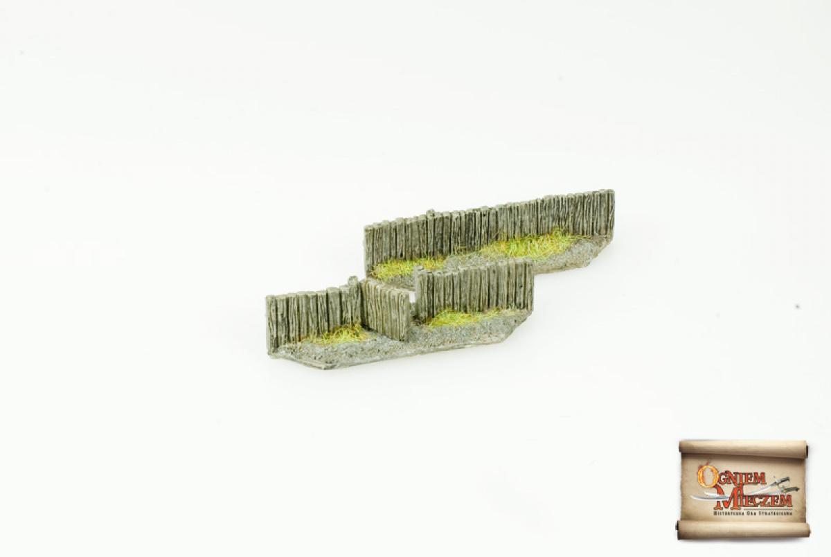 Płot drewniany