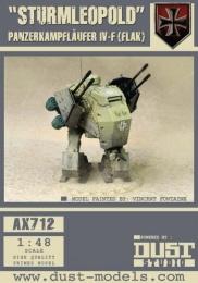 Dust Tactics: Sturmleopold - Panzerkampflaufer IV-F (Flak)