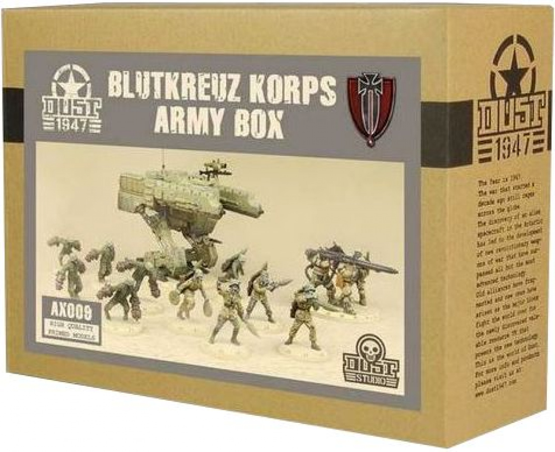 Dust Tactics: Blutkreuz Korps Army Box