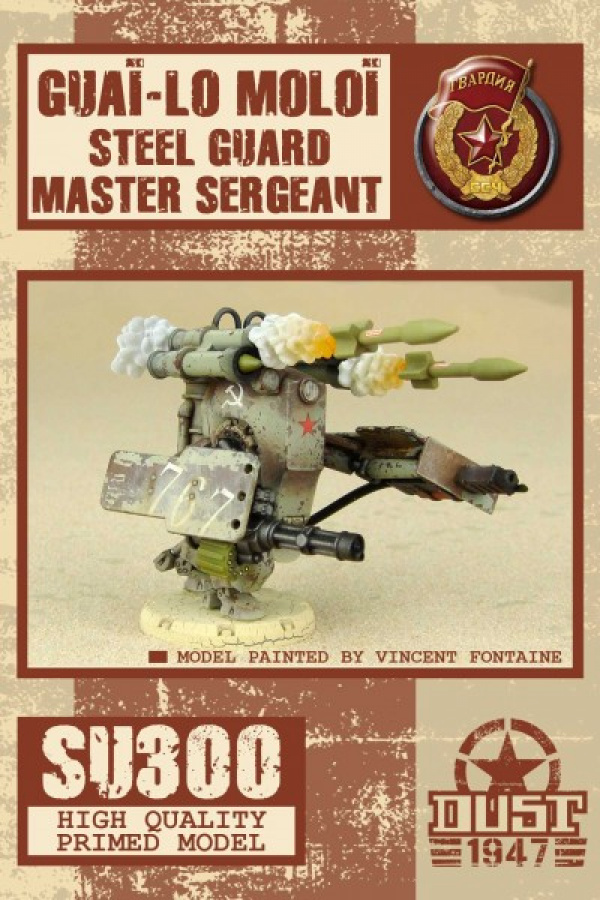 Dust Tactics: Guai-lo Moloi - Steel Guard Master Sergeant