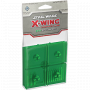 X-Wing: Miniatures Game - Green Bases and Pegs
