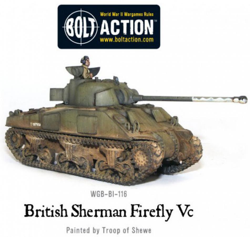 Sherman Firefly VC British Tank
