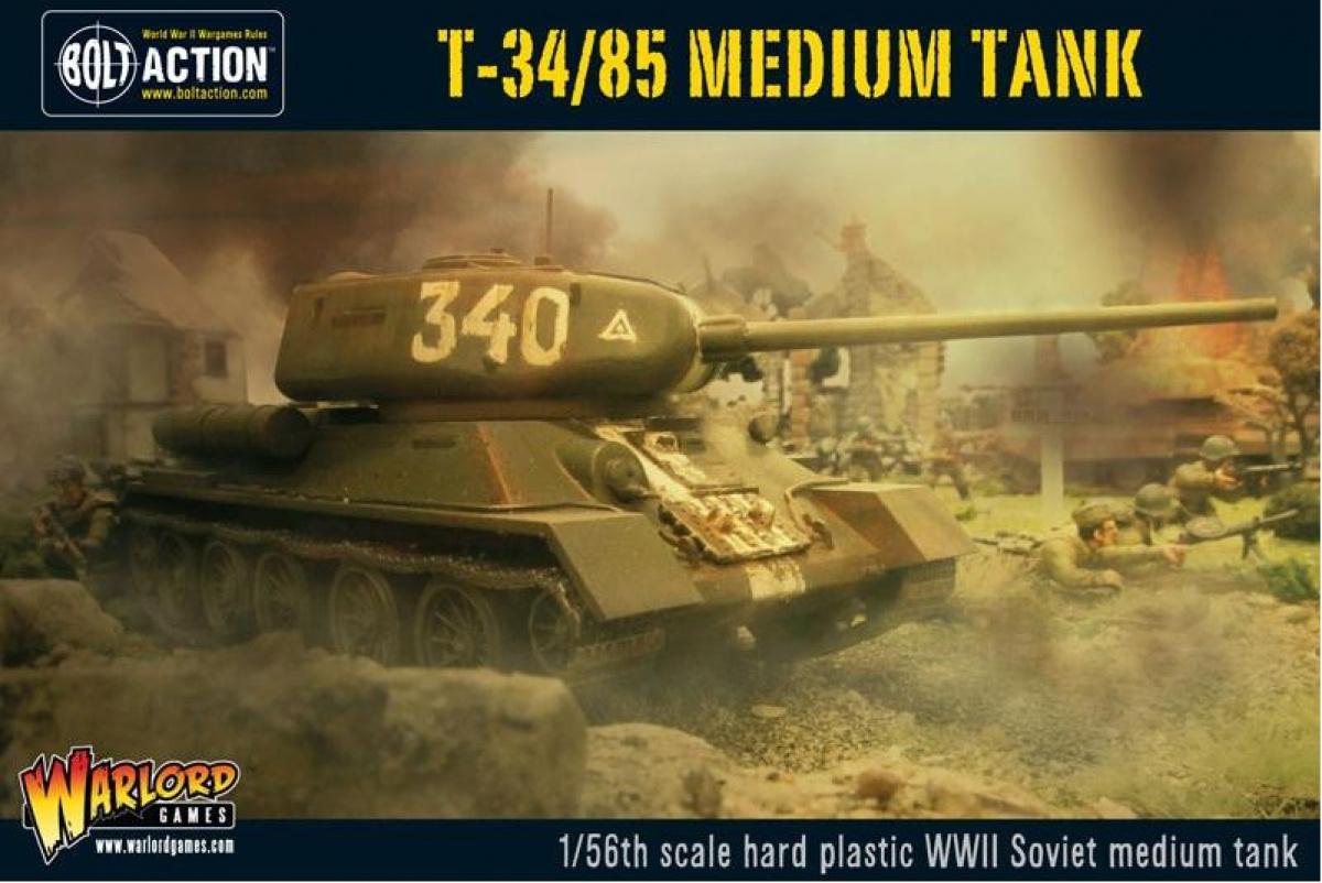 T34/85 Soviet Medium Tank