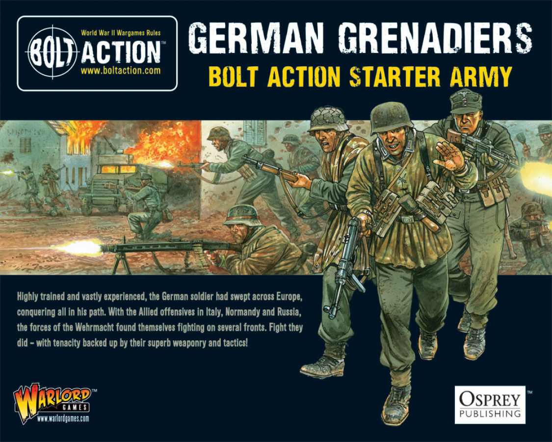 German Grenadiers - Bolt Action Starter Army
