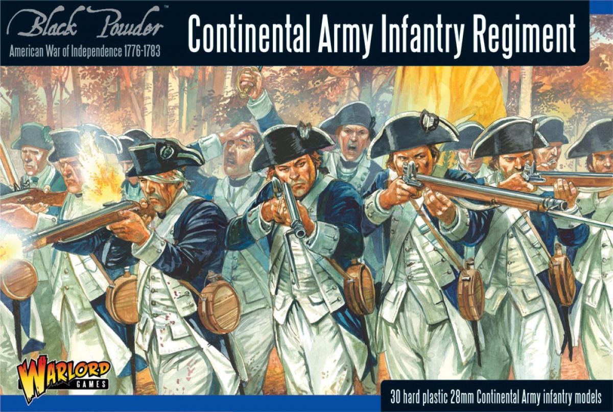 Black Powder: Continental Army Infantry Regiment