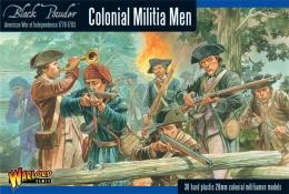 Black Powder: Colonial Militia Men