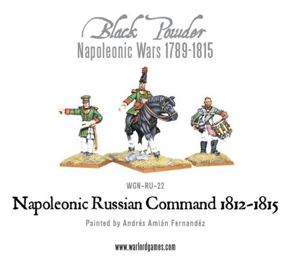 Black Powder: Napoleonic - Russian Command (1812 - 1815)