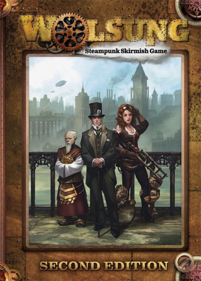 Wolsung Steampunk Skirmish Rulebook (druga edycja)