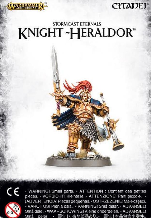 Stormcast Eternals Knight-Heraldor (drugi wzór)