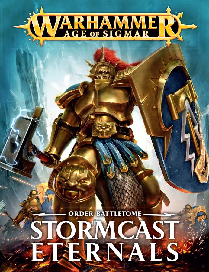 Warhammer Age of Sigmar - Order Battletome - Stormcast Eternals (wydanie pierwsze)