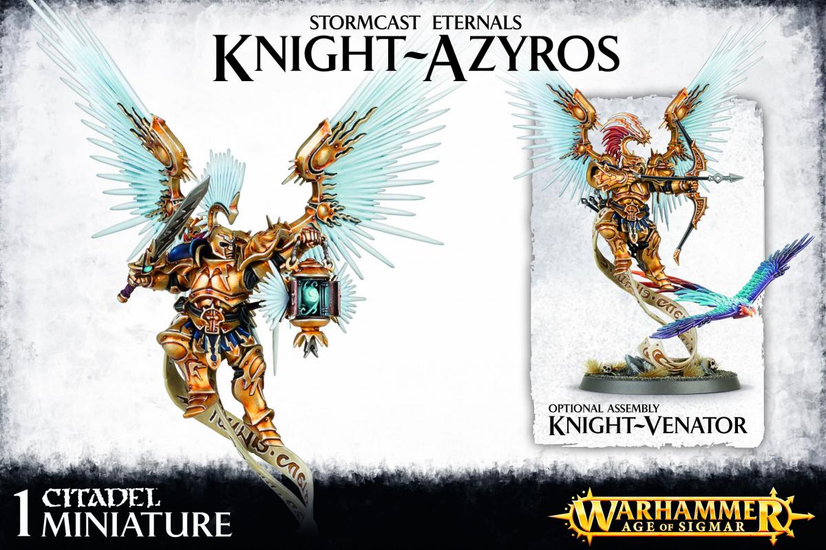 Stormcast Eternals Knight Azyros / Knight Venator