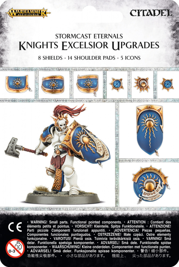 Stormcast Eternals Knights Excelsior Upgrades