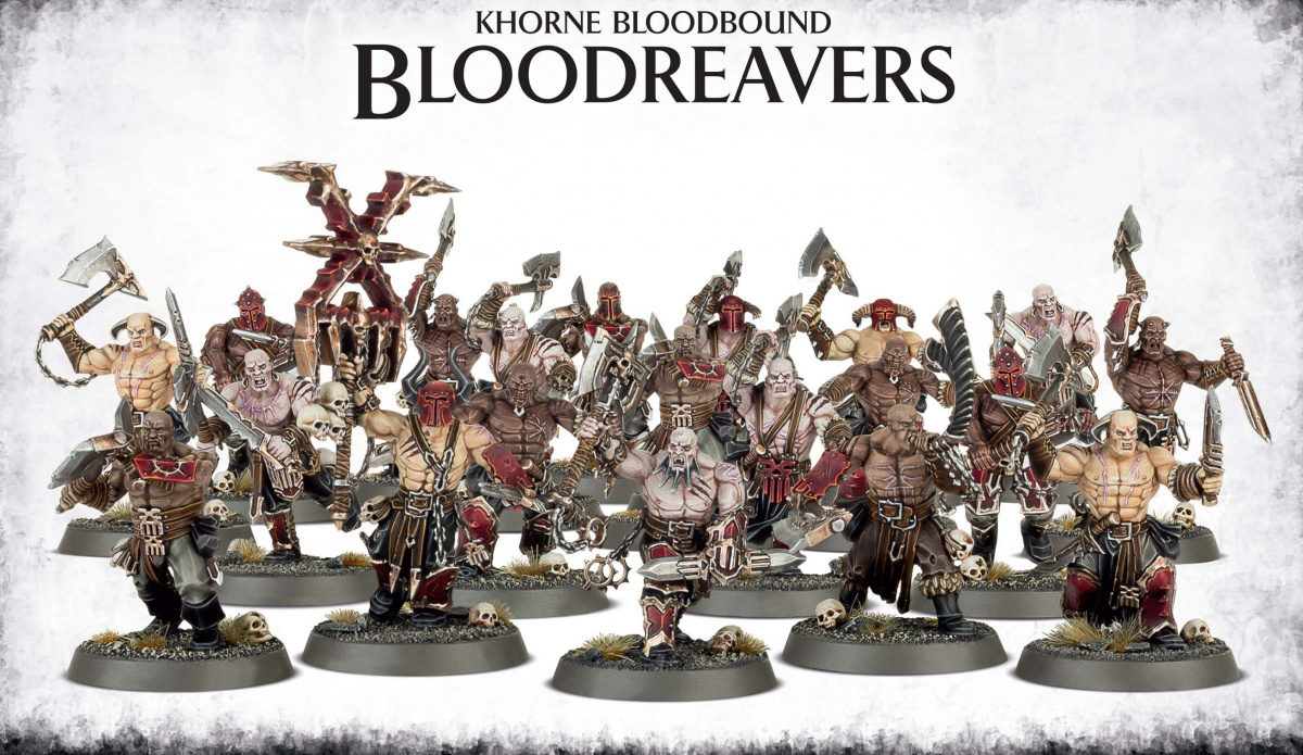 Khorne Bloodbound Bloodreavers