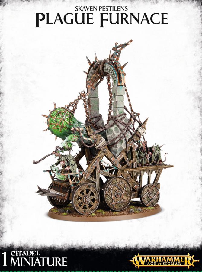 Skaven Pestilens Plague Furnace / Grey Seer on Screaming Bell
