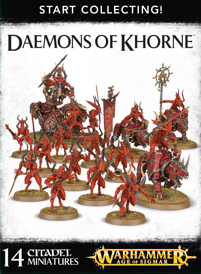 Daemons of Khorne - Start Collecting