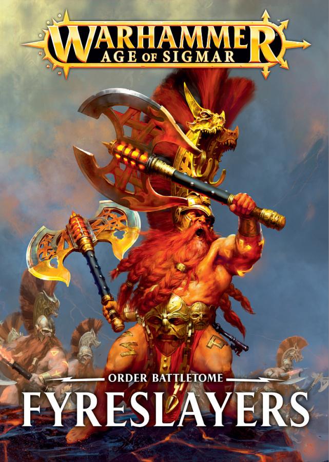 Warhammer Age of Sigmar - Order Battletome - Fyreslayers
