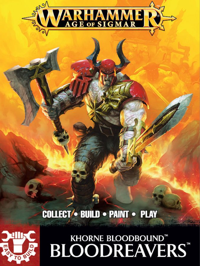 Khorne Bloodbound - Bloodreavers (Easy to Build)