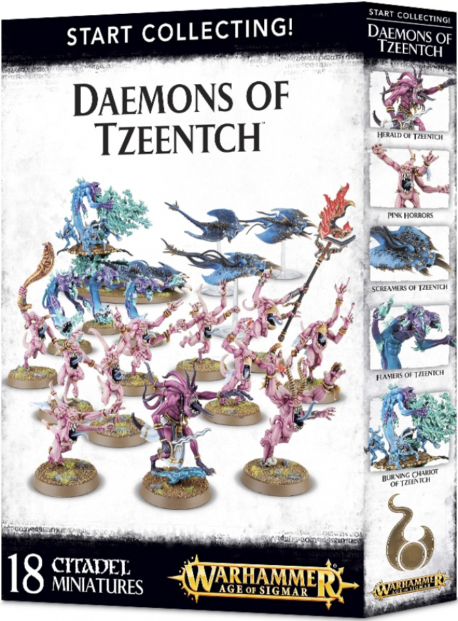 Age of Sigmar - Start Collecting! - Daemons of Tzeentch