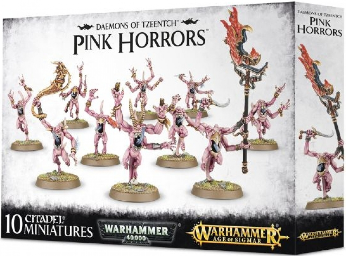 Daemons of Tzeentch - Pink Horrors