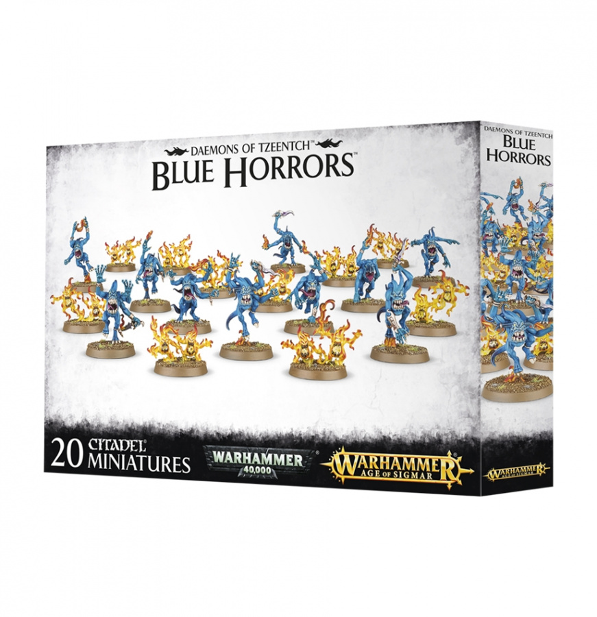 Daemons of Tzeentch - Blue Horrors & Brimstone Horrors