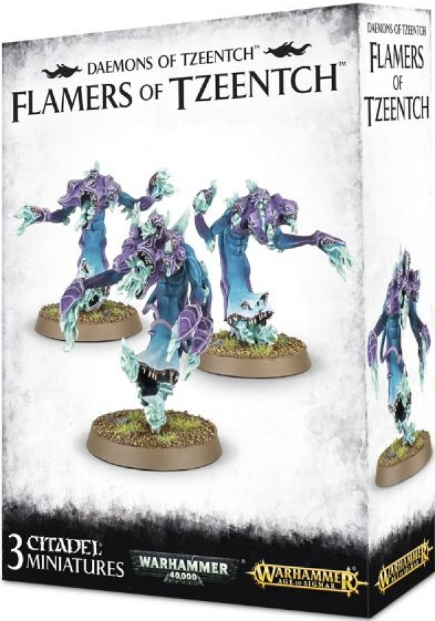 Daemons of Tzeentch - Flamers of Tzeentch