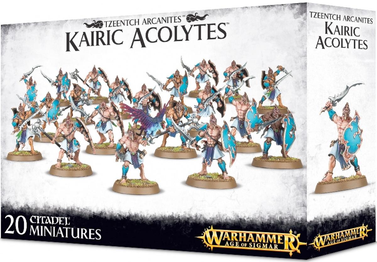 Warhammer Age of Sigmar - Tzeentch Arcanites - Kairic Acolytes
