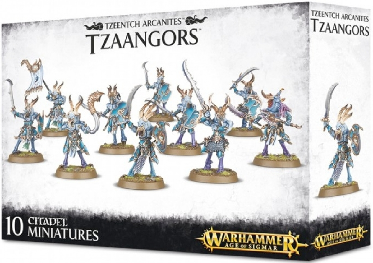 Warhammer Age of Sigmar - Tzeentch Arcanites - Tzaangors