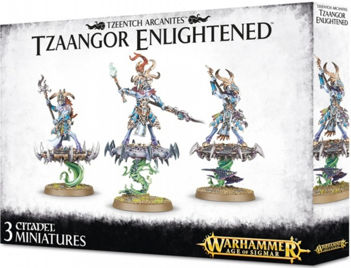 Warhammer Age of Sigmar - Tzeentch Arcanites - Tzaangor Enlightened