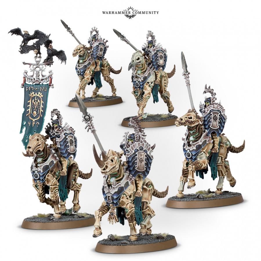 Warhammer Age of Sigmar: Kavalos Deathriders