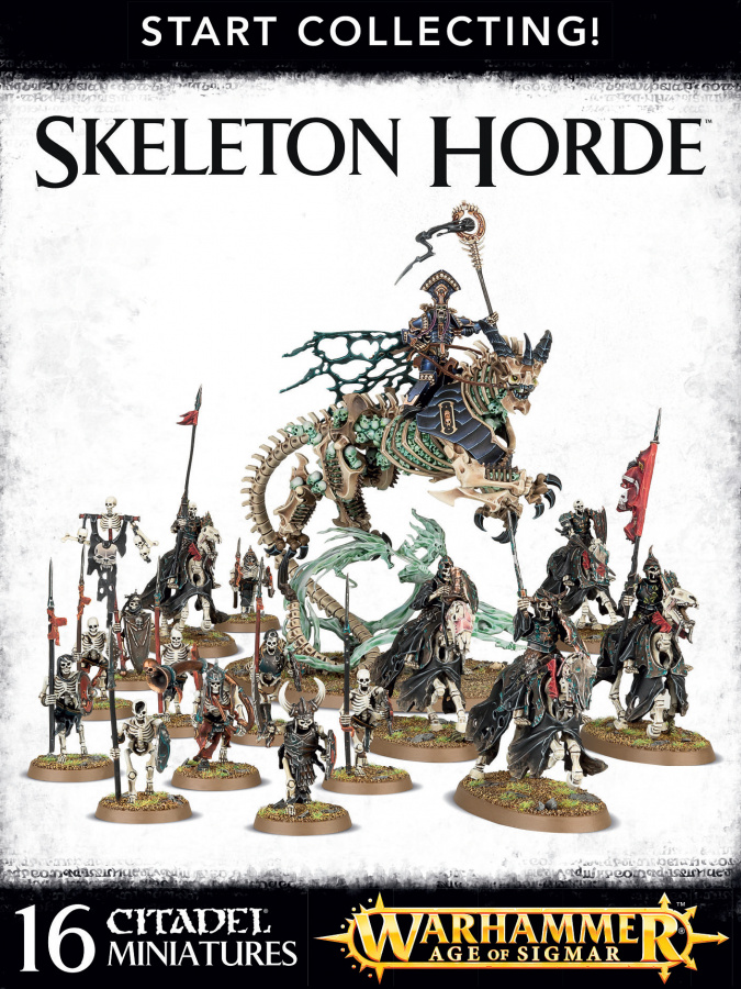 Skeleton Horde - Start Collecting