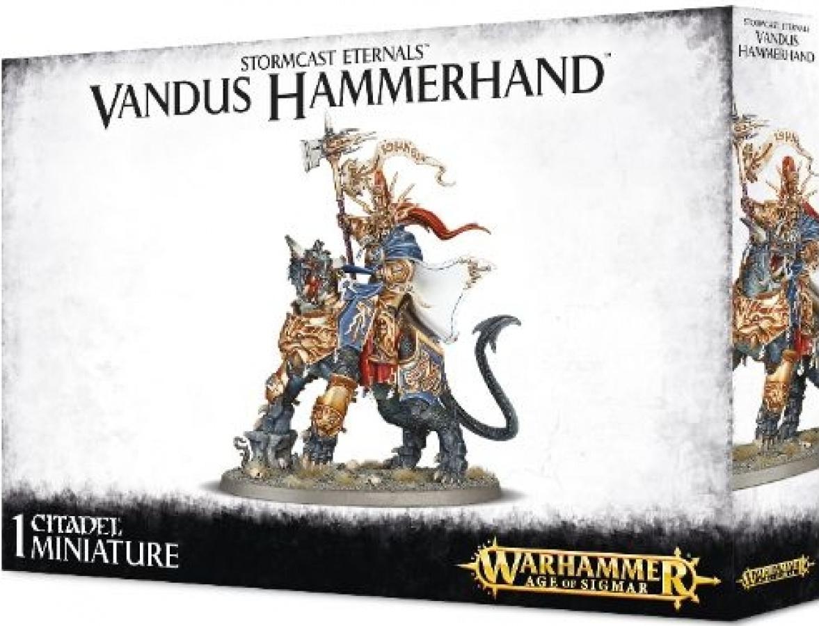 Warhammer Age of Sigmar - Stormcast Eternals - Vandus Hamerhand