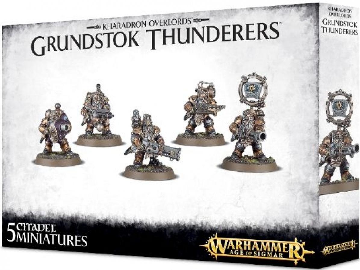 Warhammer Age of Sigmar - Kharadron Overlords - Grundstok Thunderers