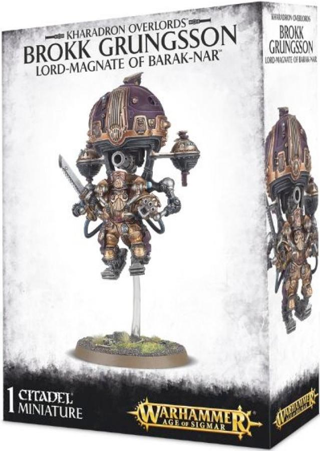Warhammer Age of Sigmar - Kharadron Overlords - Brokk Grungsson