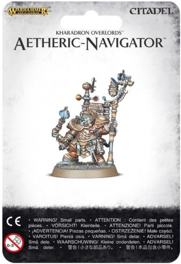 Warhammer Age of Sigmar - Kharadron Overlords - Aetheric-Navigator