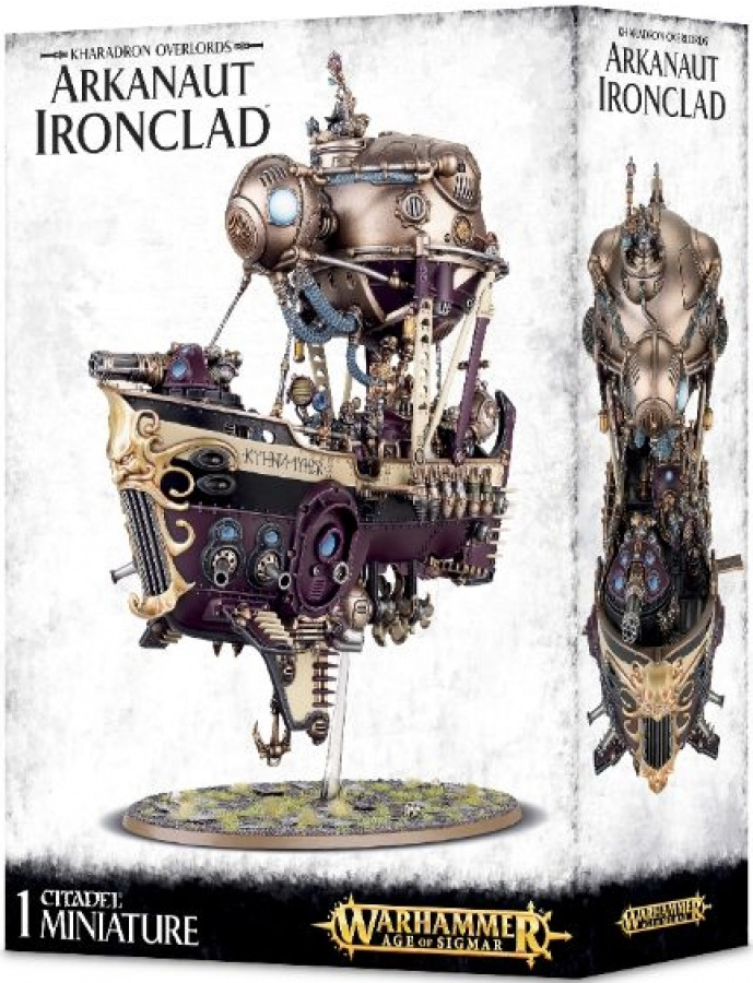 Warhammer Age of Sigmar - Kharadron Overlords - Arkanaut Ironclad