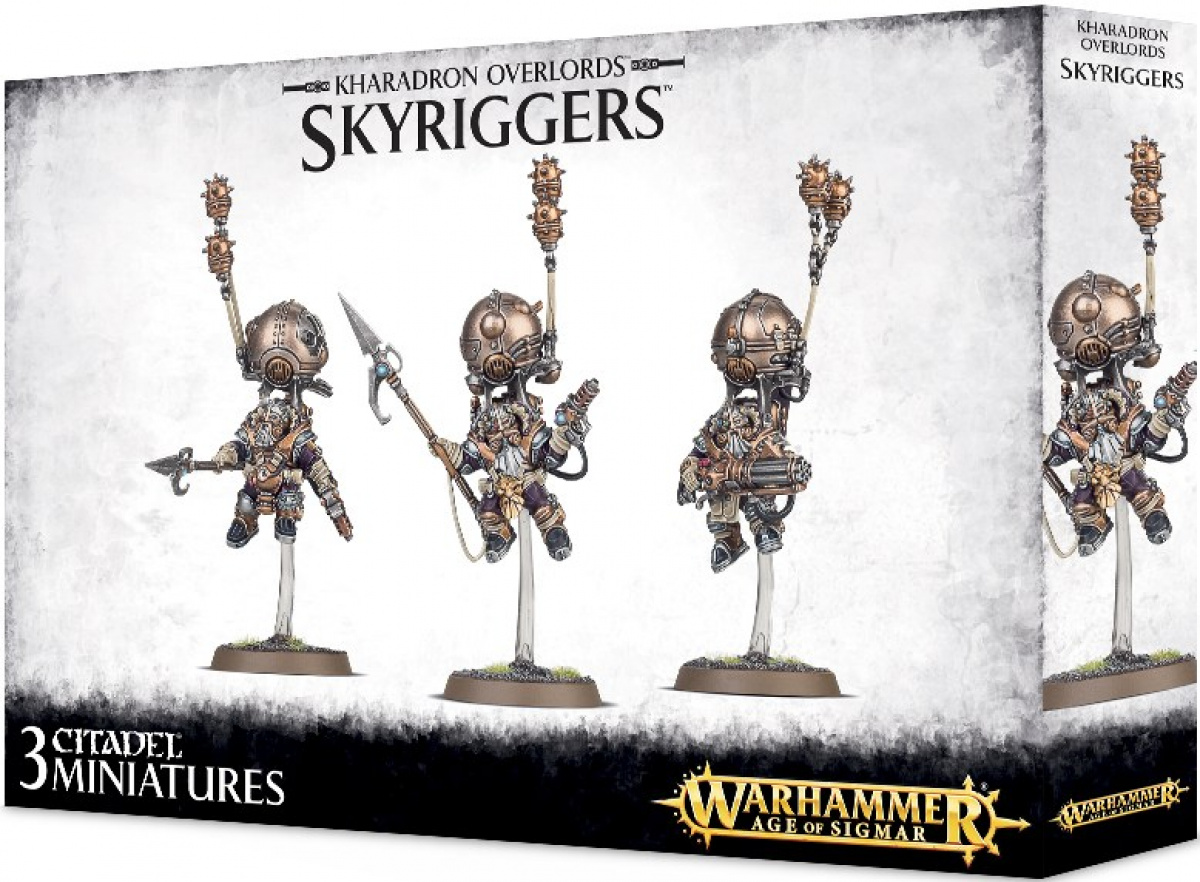 Warhammer Age of Sigmar - Kharadron Overlords - Skyriggers