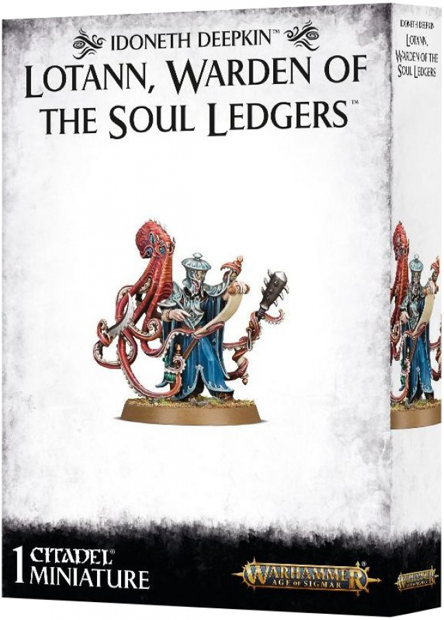 Age Of Sigmar: Idoneth Deepkin - Lotann, Warden of the Soul Ledgers