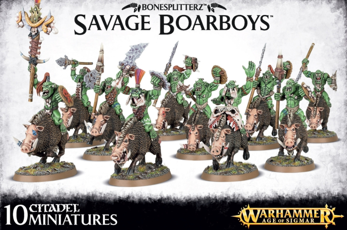 Bonesplitterz - Savage Boarboys
