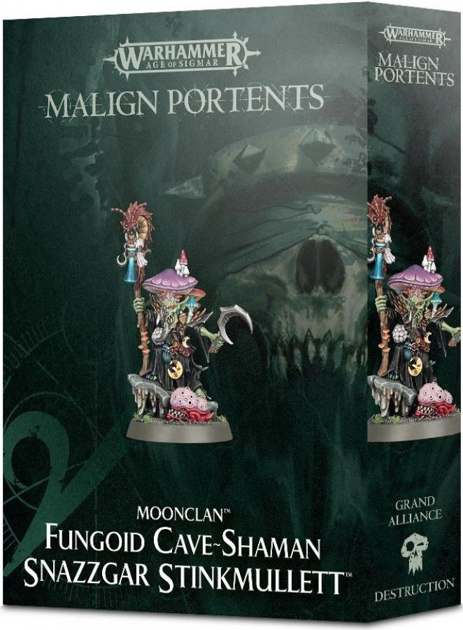 Malign Portents: Fungoid Cave-Shaman - Snazzgar Stinkmullett