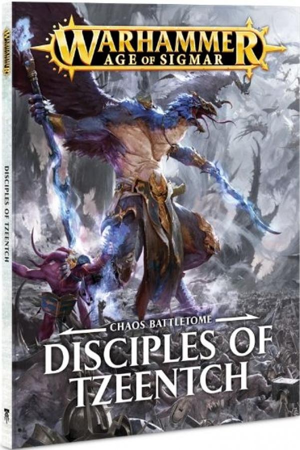 Warhammer Age of Sigmar - Chaos Battletome - Disciples of Tzeentch (miękka oprawa)