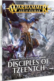Warhammer Age of Sigmar - Chaos Battletome - Disciples of Tzeentch (miękka oprawa)