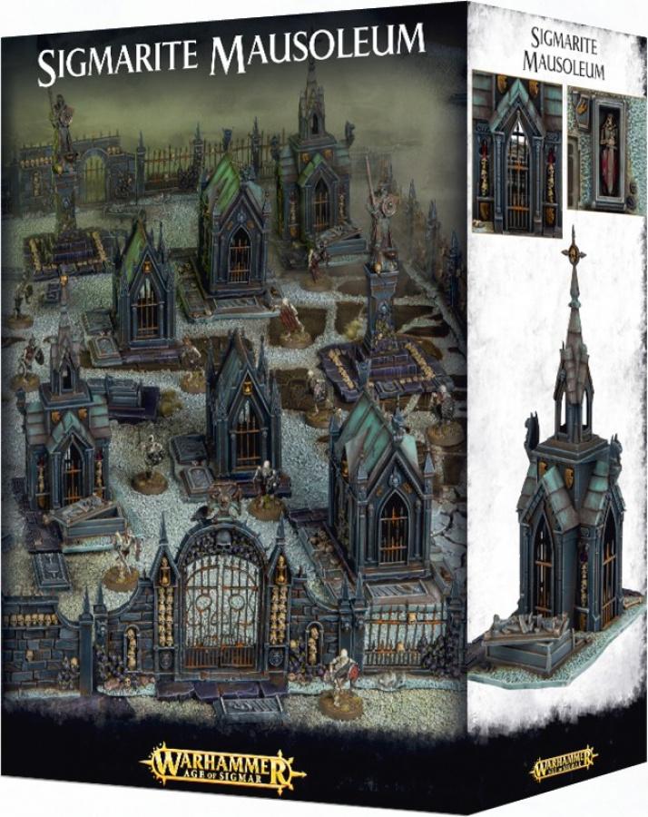 Warhammer Age of Sigmar - Sigmarite Mausoleum