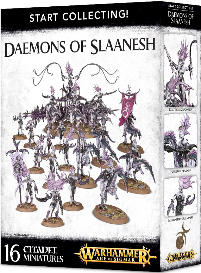 Daemons of Slaanesh - Start Collecting!