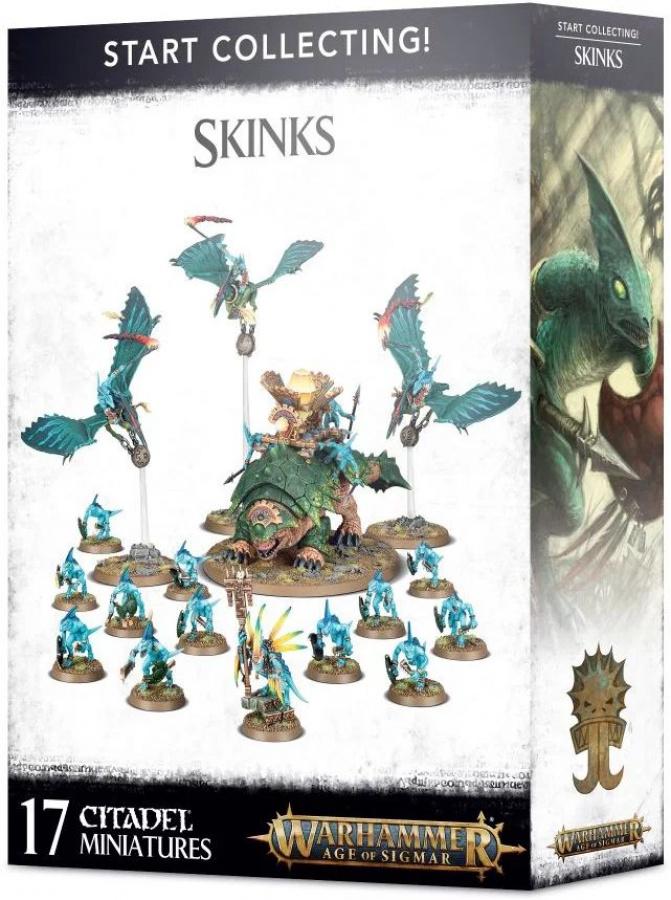 Warhammer Age of Sigmar: Skinks - Start Collecting