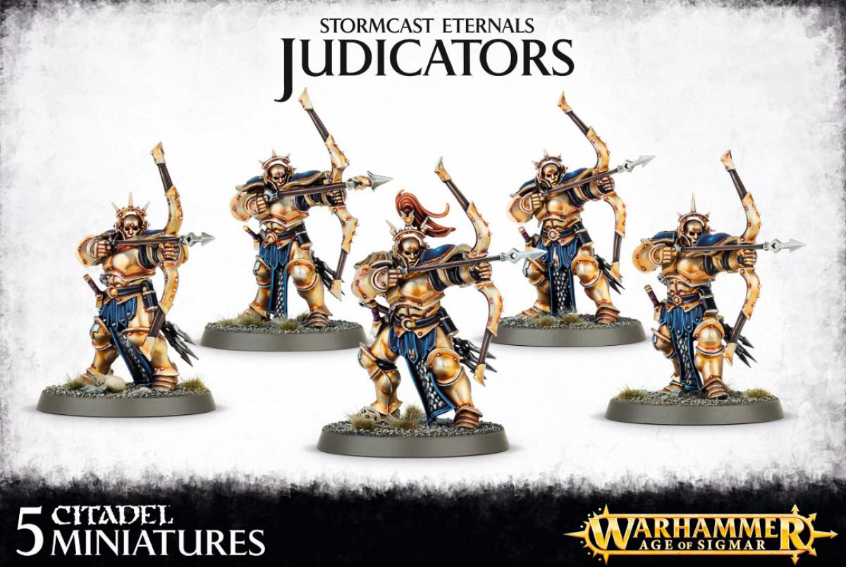 Stormcast Eternals Judicators (5 modeli)