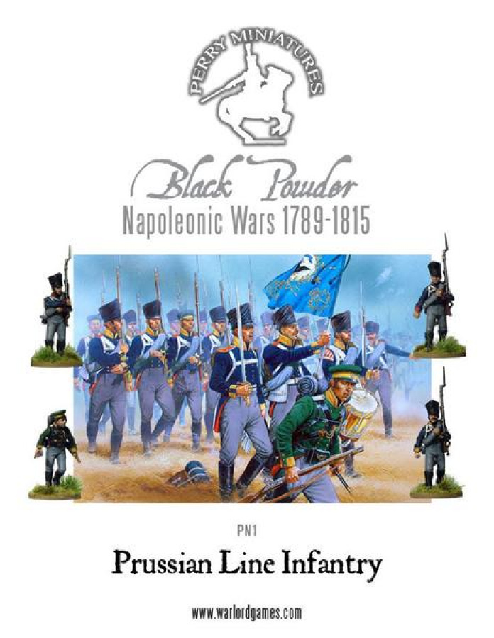 Perry Miniatures - Napoleonic Prussian Line Infantry 1813-1815