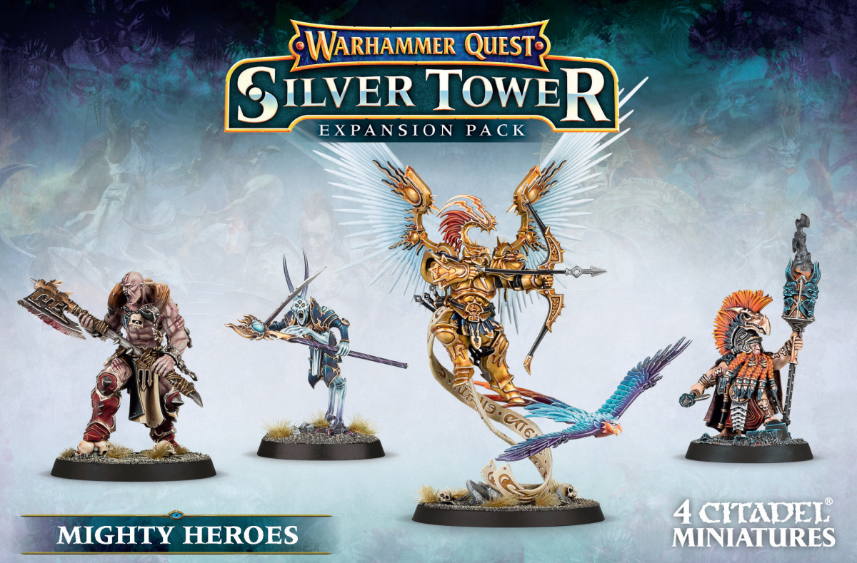 Warhammer Quest: Silver Tower - Mighty Heroes Expansion Pack