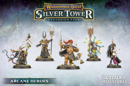 Warhammer Quest: Silver Tower - Arcane Heroes Expansion Pack