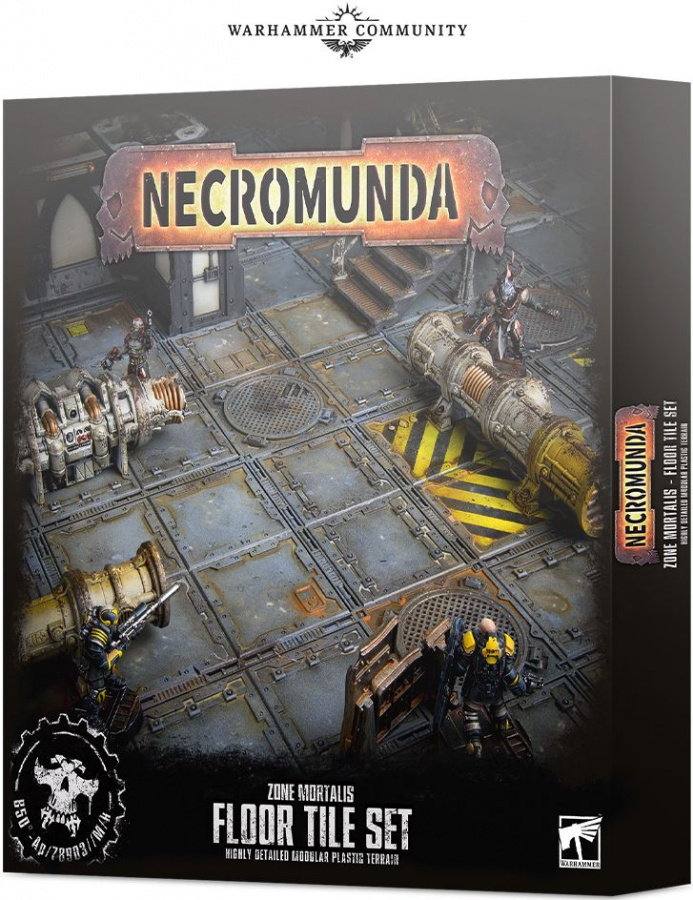 Necromunda: Zone Mortalis - Floor Tile Set