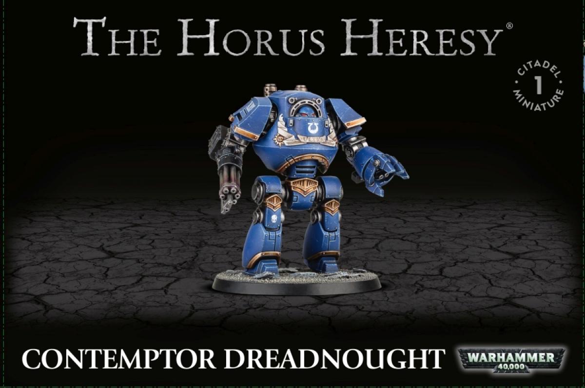 The Horus Heresy: Contemptor Dreadnought